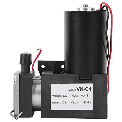 Mini-Vakuumpumpe, bürstenloser DC 12 V VN-C4-Durchmesser Bürstenloser Stummschaltmembran-Vakuumpumpe mit großem Durchfluss Mechanisches Zubehör
