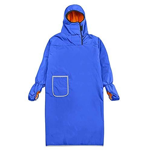 Abrigo de lluvia, con capucha completa para hombres y mujeres, impermeable plegable con rayas reflectantes, ideal para viajes en motocicleta, senderismo, pesca, camping, supervivencia