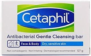 Cetaphil Antibacterial Gentle Cleansing Bar, 4.5 Ounce