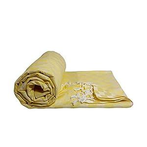 Riyashree Organic Cotton Silky Soft 3D Bhagalpuri Dull chadar Designer Blanket & Duvet ( 52*94 in ) RIDull 035