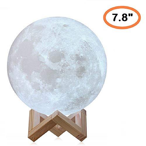 20cm Moon Lamp/Table Lamp/LED Desk Lamp / 3D Moon Lamp - Large