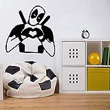 wZUN Pegatina de Pared de araña para Amantes de los Animales, Accesorios de decoración del hogar, decoración, Sala de Estar, Dormitorio, calcomanía extraíble 33X34cm