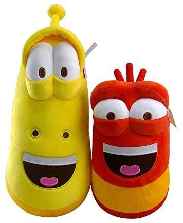 Teds 1 stück 20 cm Nette lustige kreative Insekt Larve Teddy Spielzeug Teddy Film und TV Cartoon Gefüllte Wurm Puppen Jungen Mädchen zufällig Chongxiang (Color : Default)