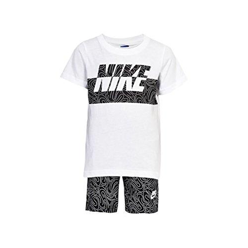 NIKE 926-023 Set, Blanco, 12 Meses
