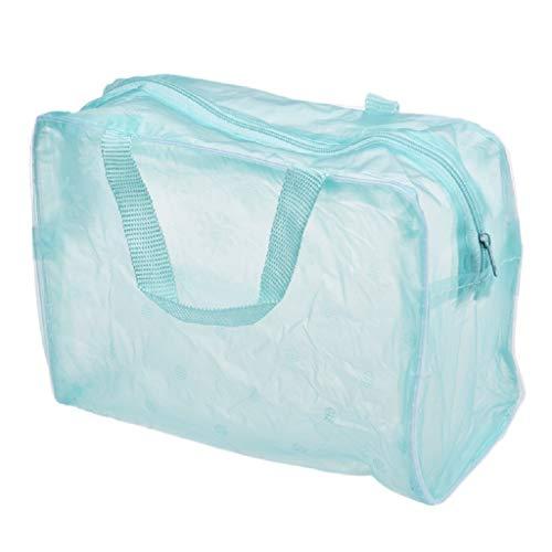 Transparente Kosmetiktasche PVC Waschbeutel Big Sale 15% Off Badetasche Schwimmtasche Aufbewahrungstasche Gym Bag Sporttasche Plastiktüte Plastic Bag