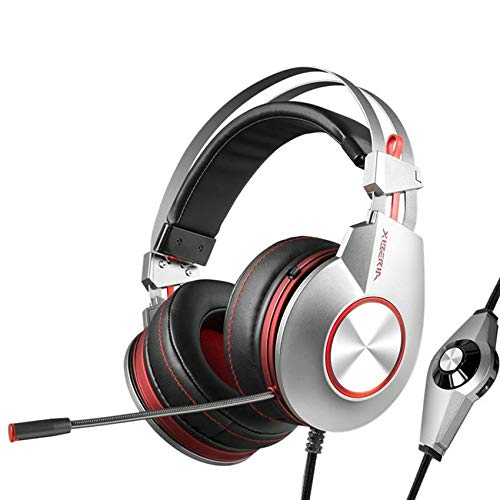 K5 Best Gaming Headphones with Microphone USB 7.1 Sound Heavy Bass Game Headset for PC Gamer PS4 Xbox one Phone