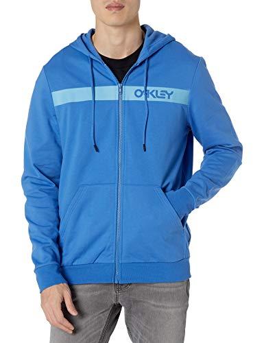 Oakley Men's Straight Peak Fleece Hoodie, Royal Blue, L