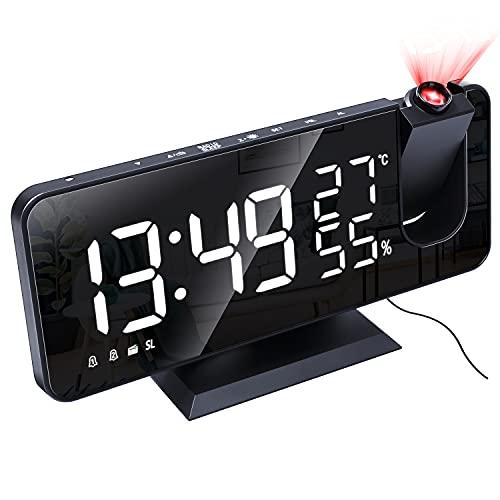 La mejor comparación de Relojes de proyección - solo los mejores. 10
