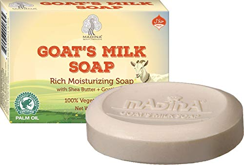 Madina Goat's Milk Moisturizing Soap with Shea Butter