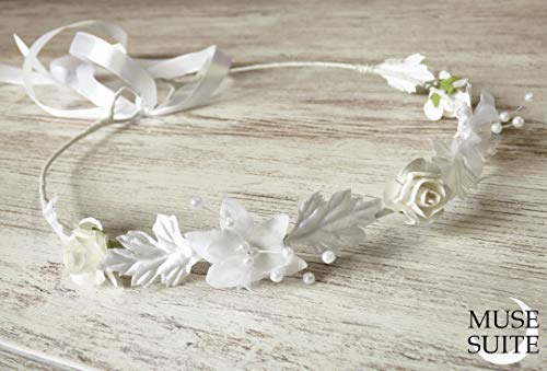 Diadema de novia - Tiara para novia - Corona nupcial - Tiaras de boda