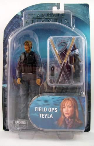 Stargate Atlantis Series 2 Figure Field Ops Teyla