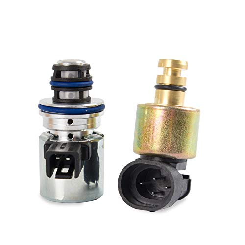 RANSOTO Transmission Pressure Sensor & Governor Solenoid Kit A500 A518 42RE 44RE 46RE 47RE Compatible With 1993-1999 Grand Cherok / 1996-1999 Dodge Ram /1996-1998 Dodge B1500/B2500/B3500