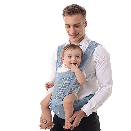 Mochila bebe Mochila Portabebé Ergonómica Multifuncion Transpirable 4 En 1, Con 4 Modos Para Porta Bebe Con Comodidad,para Recien Nacido(Carga Máxima: 20kg.Edad Aplicable: 0-36 Meses.) mochila porta b