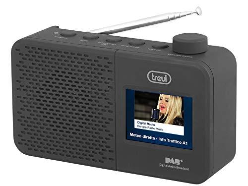 Trevi Dab 795 R Radio Con Ricevitore Digitale Dab/Dab+ E Fm Con Rds, Grande Display LCD A Colori 2.4\