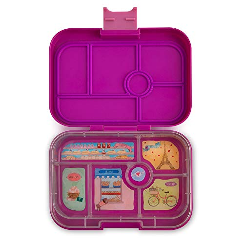 Yumbox Original Leakproof Bento Lunch Box Container for Kids (Bijoux Purple)