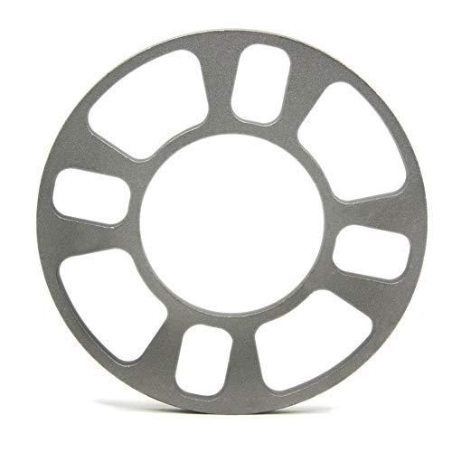 L-xia-mzj 4pcs / Lot Universal Espaciador de la Rueda de 4 Orificios de 8 mm de Aluminio Adaptador de la Rueda de Ajuste de 4 Lug 4x101.6 4x108 4x112 4x114.3
