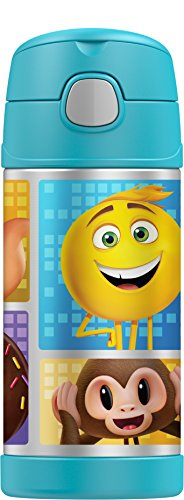 Thermos Funtainer 12 Ounce Bottle, Emoji the Movie