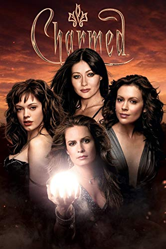 Prue, Piper, Phoebe, Paige Sisters Charmed Poster, Charmed Art Print, Charmed 1998 Tv Series Poster, Charmed Artwork, Charmed Gifts