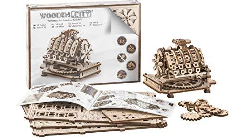 WOODEN.CITY Modelos Mecánicos Kits Motor