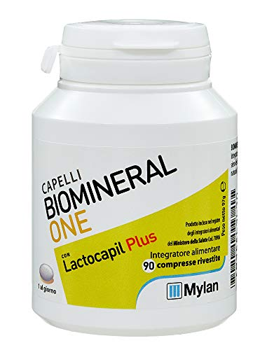 Biomineral One Con Lactocapil Plus Integratore Alimentare Anticaduta Capelli 90…