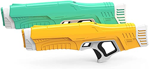 Electric Water Gun Toys Large Capacity Adult Swimming Pool Toys Outdoor Water Fight Electric High...