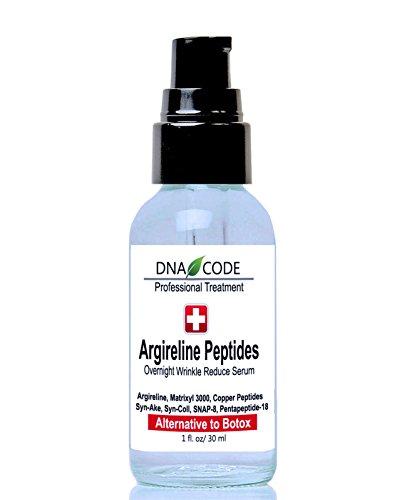 Magic Night Serum-No Needle Alternative-Pure Argireline Peptides Overnight Firming Serum-Argireline, Matrixyl 3000, SNAP-8, Pentapeptide-18 (Leuphasyl), SYN-AKE, Copper Peptide,Syn-Coll, Syn-Tacks