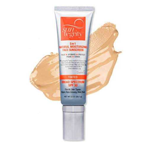 Suntegrity 5-in-1 Golden Light Natural Tint Moisturizing Sunscreen