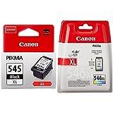 Canon PG-545XL Cartouche Noire XL & CL-546XL Cartouche Couleur XL (Pack Plastique sécurisé)