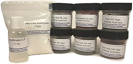 WashFast Fire Acid Dye Sampler