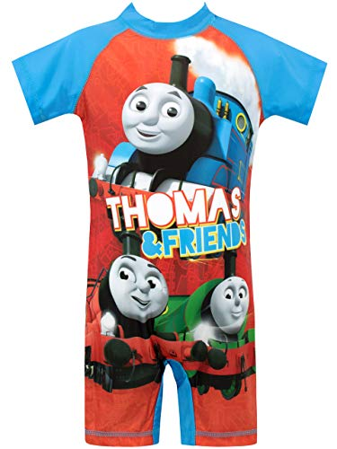 Thomas and Friends Boys' Thomas The Tank Engine Swimsuit Multicolor Size 3T