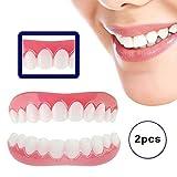 Arriba Y Abajo Dentaduras Perfecto Instantánea Sonríe Dientes Nuevo Snap On Blanqueamiento Teeth Fit Flex Cosméticos Comodidad Reutilizable y Extraíble