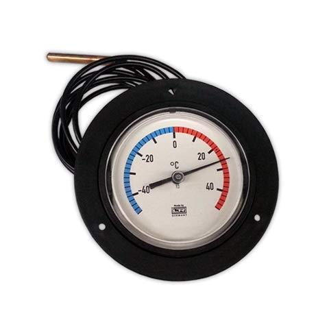 DOJA Industrial   Termometro -40°/+40°C   Analogicos Esfera 80 mm, con bulbo 1,5 metro