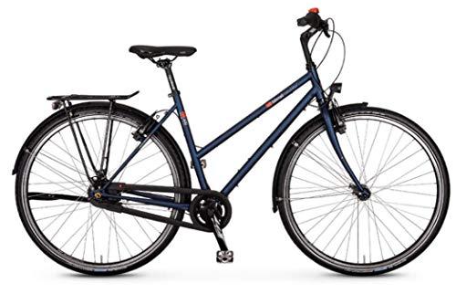 "vsf fahrradmanufaktur T-300 Shimano Nexus 8-G HS33 Trekking Bike 2021 (28\"" Damen Trapez 50cm, Midnight Matt (Damen))"