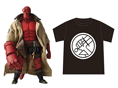 1000 Toys Hellboy BPRD Shirt Version 1:12 Scale Action Figure