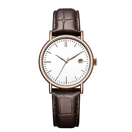 N / B Relojes, Relojes de cinturón, Relojes de Disco, Movimiento de Cuarzo, 30 Metros de Vida a Prueba de Agua, Simples y de Moda, la Primera opción para Regalos.