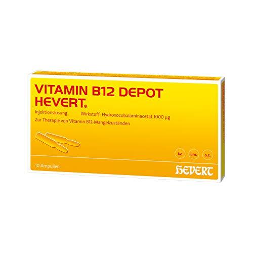 Vitamin B12 Depot Hevert Ampullen, 10 St. Ampullen