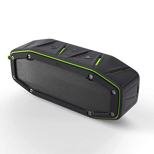Gymqian Bluetooth 4.2 Altavoz, Altavoz Inalámbrico de Tipo Portátil, Altavoces Duales Incorporados, Subwoofer de Hifi, Soporte Inalámbrico Stereo Tws Y Llamadas de Manos Libres, Y M