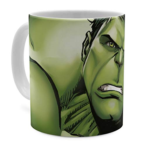 PhotoFancy Tasse Marvel mit Namen personalisiert - Design Avengers Assemble The Hulk