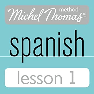 Michel Thomas Beginner Spanish, Lesson 1 audiobook cover art
