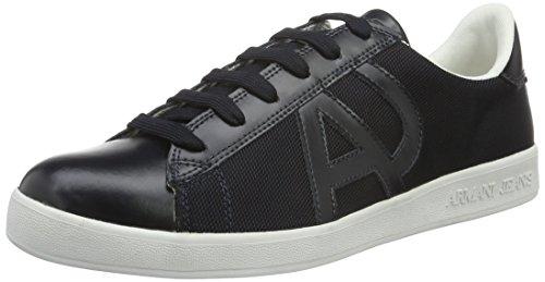 Armani Jeans 935565CC503, Sneakers Basses homme - Bleu - Blau (BLUE GRAPHITE 09936), 41