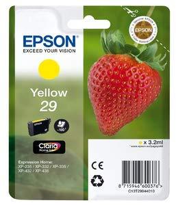 Epson C13T29844010–xp235/332/335/432/435Amarillo Cartucho de tinta