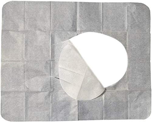 cp 200 WC Hygiene Sitzauflagen - Papierauflagen für Toilettensitz
