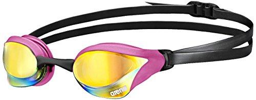 arena Cobra Core Swim Goggles, Pink Copper / Pink / Black, Mirror