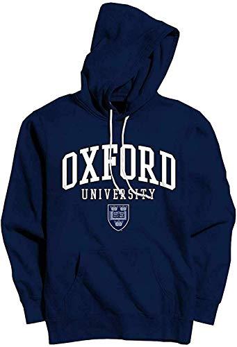 Oxford University - Coat of Arms - Offiziell Herren Kapuzenpullover - Blau, XXL