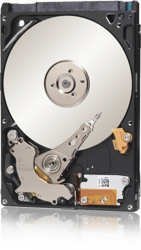 Seagate ST1000LM014 Solid State Hybrid Drive (1TB) Silber