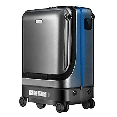 Airwheel SR5 Auto Following Smart Luggage Robot Suitcase for Adult and Kids (Black)