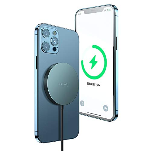 YUNYING Magnetic Wireless Charger, mag-Safe Charger 15W Fast Wireless Charging Station with PD Adapter Compatible with iPhone 12/12 Pro MAX/Mini/AirPods Pro