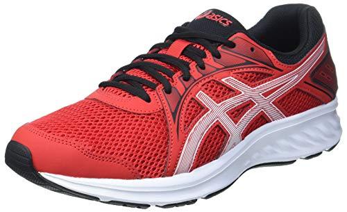 ASICS Jolt 2, Zapatillas para Correr Hombre, Clásico Rojo y Blanco, 47 EU