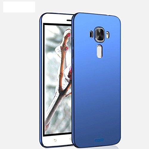 "CaseCraft Premium Full 360° Side Covered Hard Frosted Matte Back Cover Case for Asus Zenfone 3 ZE552KL (5.5"") -Blue"
