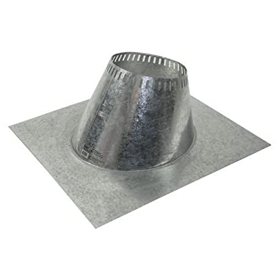 """Shasta Vent """"Ventilated Roof Flashing"""" for Shasta Vent 6"""" (8"""" O.D.) Chimney Systems (for 1 to 6 pitch Roofs)"""